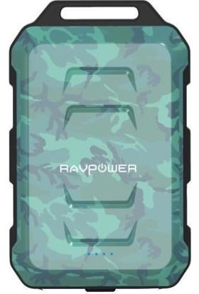 RAVPower RP-PB044 10050mAh Su Geçirmez Taşınabilir Şarj Cihazı Powerbank Kamuflaj, 65-02000-381