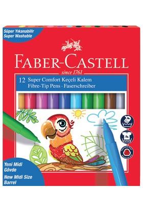 Faber-Castell Super Comfort 12'li Keçeli Kalem