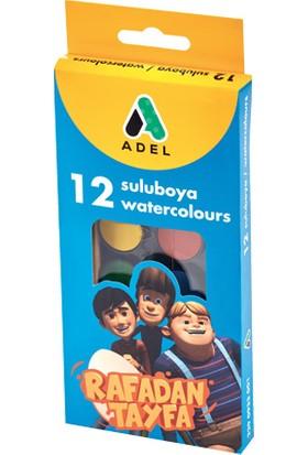 Adel Rafadan Tayfa 12'li 24mm Suluboya