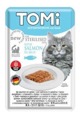 Tomi Somon Balıklı Yaş Kısır Kedi Maması 6 Adet 85 g