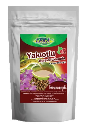 Leka Yakı Otlu Kereviz Tohumlu Çay 60 Süzen Poşet