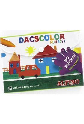 Alpino Dacscolor Mum Boya 12 Renk Plastik Çantalı