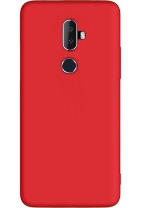 Case Street Alcatel 3V Kılıf Premier Silikon Esnek Arka Koruma Kırmızı