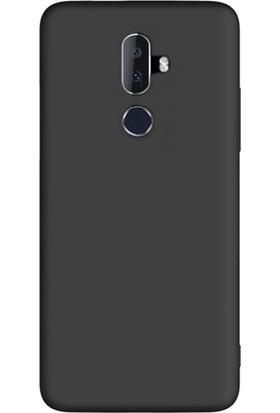 Case Street Alcatel 3V Kılıf Premier Silikon Esnek Koruma + Nano Glass Siyah