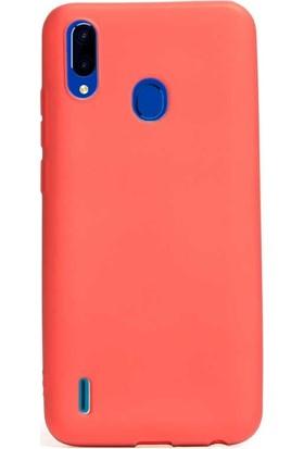 Case Street Casper Via G4 Kılıf Premier Silikon Esnek Koruma + Nano Glass Kırmızı