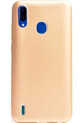Gpack Casper Via G4 Kılıf Premier Silikon Esnek Koruma + Nano Glass Gold