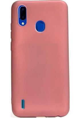 Gpack Casper Via G4 Kılıf Premier Silikon Esnek Koruma + Nano Glass Mürdüm