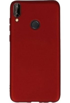 Gpack Samsung Galaxy A20e Kılıf Premier Silikon Esnek Arka Koruma Kırmızı