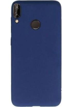 Gpack Samsung Galaxy A20e Kılıf Premier Silikon Esnek Arka Koruma Lacivert