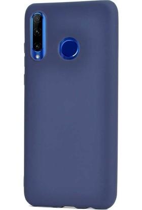 Gpack Huawei Honor 20 Lite Kılıf Premier Silikon Esnek Arka Koruma Lacivert