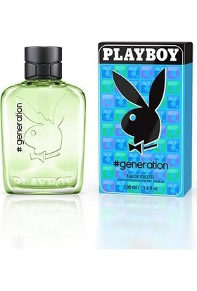 Playboy Generation Men Eau De Toilette Spray 60ml