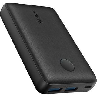 Anker PowerCore Select 10000 mAh Taşınabilir Hızlı Şarj Cihazı - PowerIQ 12W+10W Çift Çıkışlı Powerbank - Siyah - A1223
