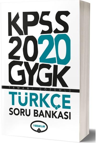 Yediiklim Yayınevi 2020 Genel Kültür Genel Yetenek Tamamı Çözümlü Soru Bankası Modüler Set