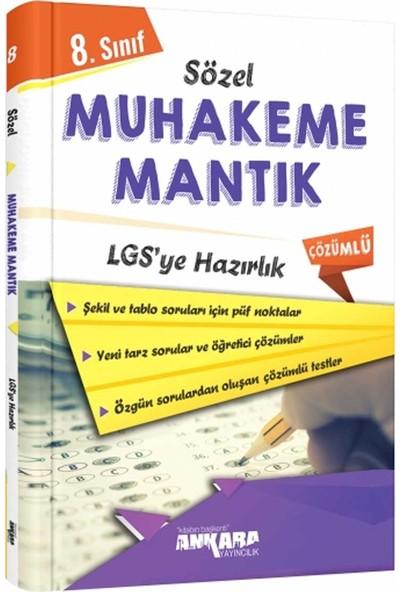 Ankara Yayıncılık LGS 8. Sınıf Sözel Muhakeme Mantık