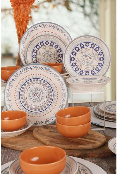 Keramika Etna Yemek Takımı 24 Parça 6 Kişilik 18320