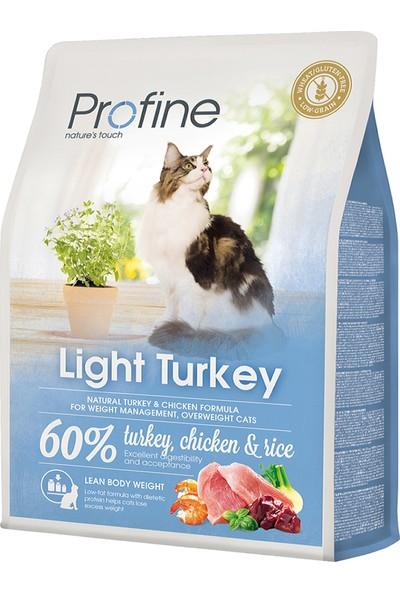 Profine Diyet Düşük Kalori Kedi Maması 2 kg+ 1 Adet Kedi Ödülü