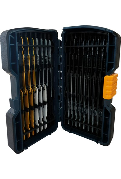 Ryobi RTC2376 30 Parça T Tipi Ahşap/Metal Dekupaj Bıçak Seti