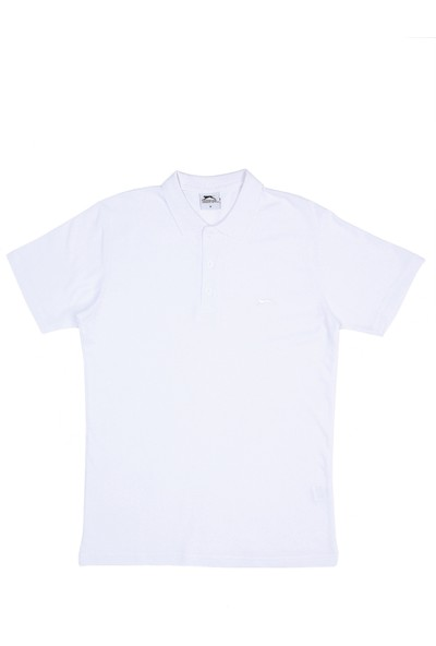 Slazenger Salvator Erkek T-Shirt Beyaz