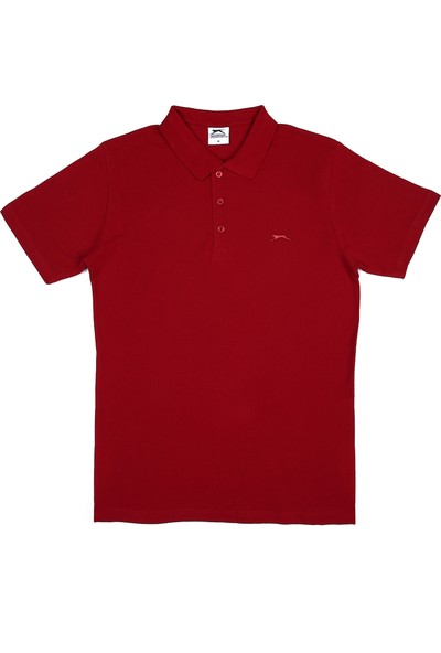 Slazenger Salvator Erkek T-Shirt Bordo