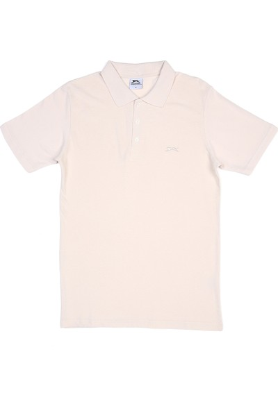 Slazenger Salvator Erkek T-Shirt Ekru