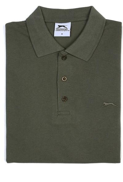 Slazenger Salvator Erkek T-Shirt Haki