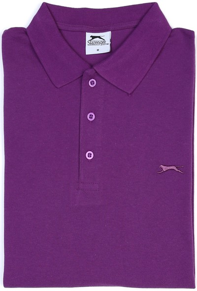 Slazenger Salvator Erkek T-Shirt K.Bordo