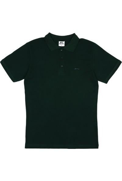 Slazenger Salvator Erkek T-Shirt K.Yeşil