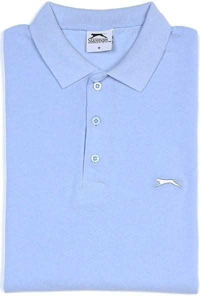 Slazenger Salvator Erkek T-Shirt Mavi