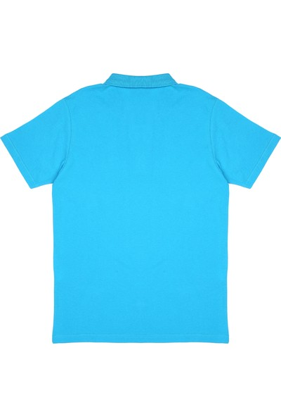 Slazenger Salvator Erkek T-Shirt Turkuaz
