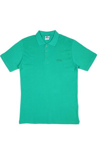 Slazenger Salvator Erkek T-Shirt Yeşil