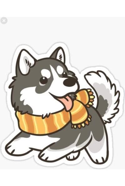 Areksan Sevimli Köpek Sticker 13 cm
