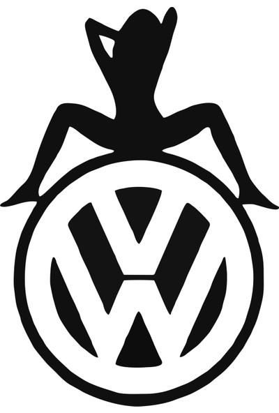 Areksan Volkswagen Girl Sticker 15 cm