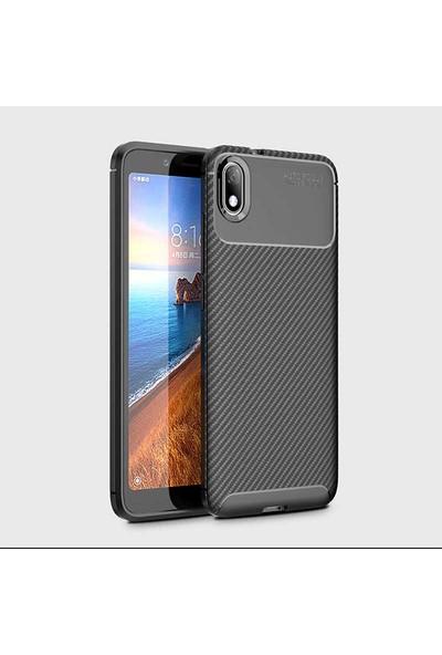 Zore Xiaomi Redmi 7A Negro Silikon Kılıf Siyah