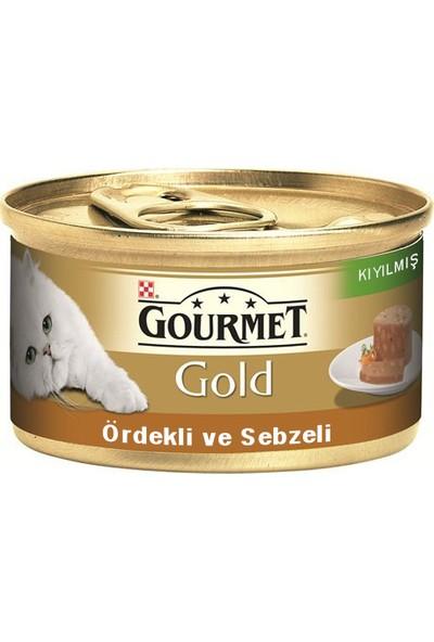 Gourmet Gold Kıyılmış Ördek & Sebze Konserve 85 g x 12 Adet