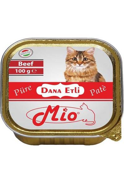 Mio Dana Etli Püre Kedi Konservesi 100 g 12 Adet