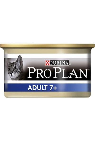 Proplan Adult +7 Balıklı Yaşlı Kedi Konservesi 85 g x 12 Adet