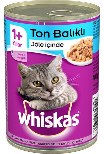 Whiskas Ton Balıklı Kedi Konserve 400 g x 12 Adet