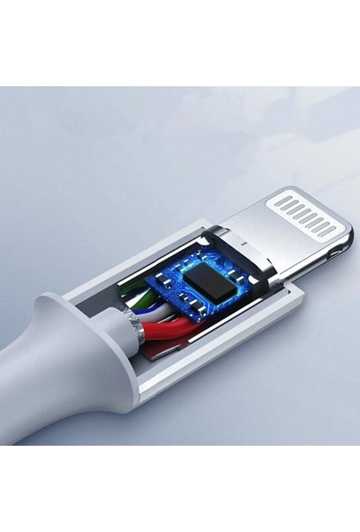 Philips DLC2503V/51 Pd Type-C to Lightning Charge 8W 1 mt