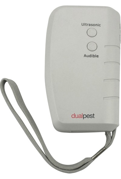 Dualpest AN-B008 Ultrasonik Köpek Kovucu Işıklı Köpek Kovucu LED Işıklı