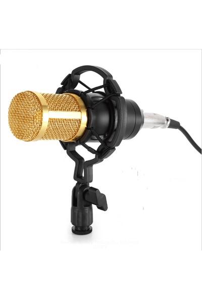 Booyse Profesyonel Youtuber BM800 Stüdyo Kayıt Mikrofonu