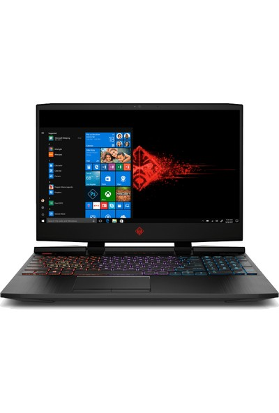 "HP Omen 15-DC1001NT Intel Core i7 8750H 16GB 1TB + 256GB SSD GTX2060 Windows 10 Home 15.6"" FHD Taşınabilir Bilgisayar 5AU89EA"