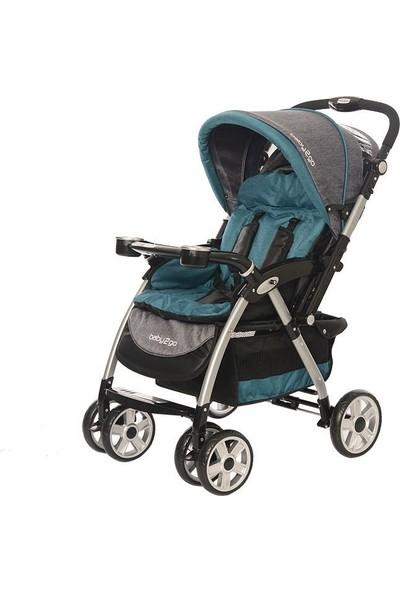 Baby2Go Carnaval Çift Yönlü Bebek Arabası Yeşil