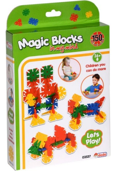 Dede 150 Parça Magic Blocks