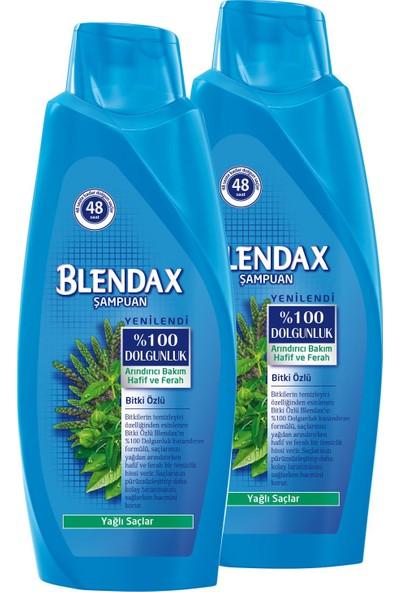 Blendax Bitki Özlü Şampuan 550 mlx 2 Paket