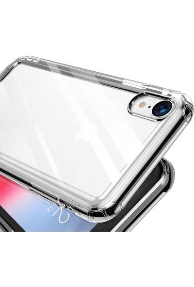 Aktif Aksesuar Apple iPhone XR Şeffaf Ince Köşe Korumalı