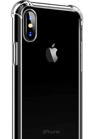 Aktif Aksesuar Apple iPhone XS Max Şeffaf Ince Köşe Korumalı
