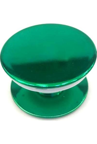 Pars Pop Soket Telefon Tutucu Selfi Aparatı Masaüztü Stand - Parlak Yeşil