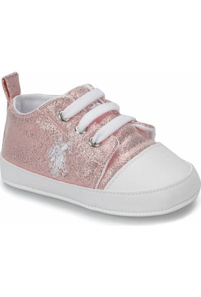 U.S. Polo Assn. Lıckı. Pembe Kız Çocuk Sneaker Ayakkabı