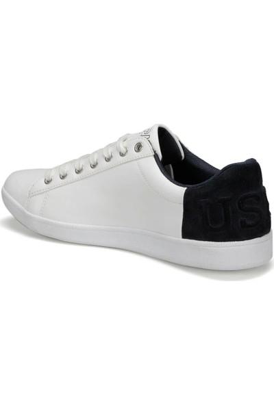 U.S. Polo Assn. Pedro 9Pr Beyaz Erkek Sneaker Ayakkabı