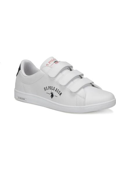 U.S. Polo Assn. Sınger 9Pr Beyaz Erkek Sneaker Ayakkabı